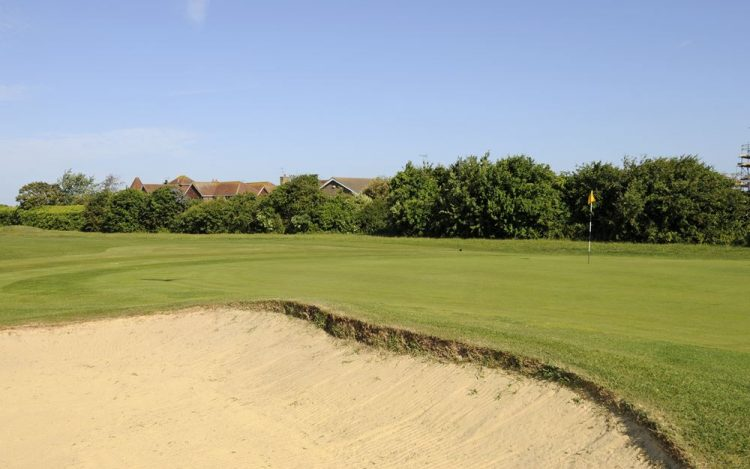WBGC - 10TH HOLE - THE GREEN AND BUNKER 2