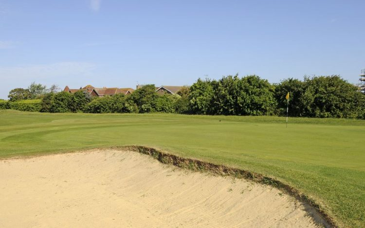 WBGC - 10TH HOLE - THE GREEN AND BUNKER 3