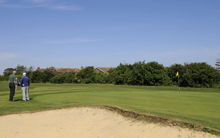 WBGC - 10TH HOLE - THE GREEN AND BUNKER