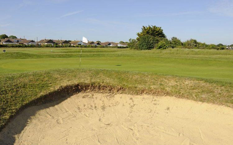 WBGC - 11TH HOLE - THE GREEN WITH BUNKER FRONT 2