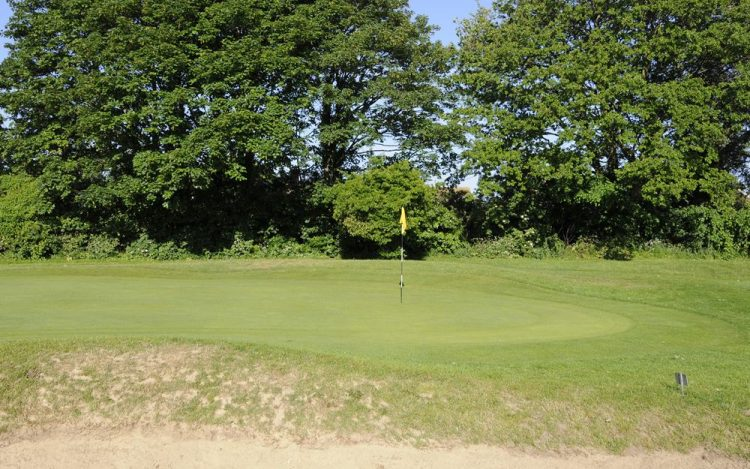 WBGC - 14TH HOLE -GREEN AND BUNKER