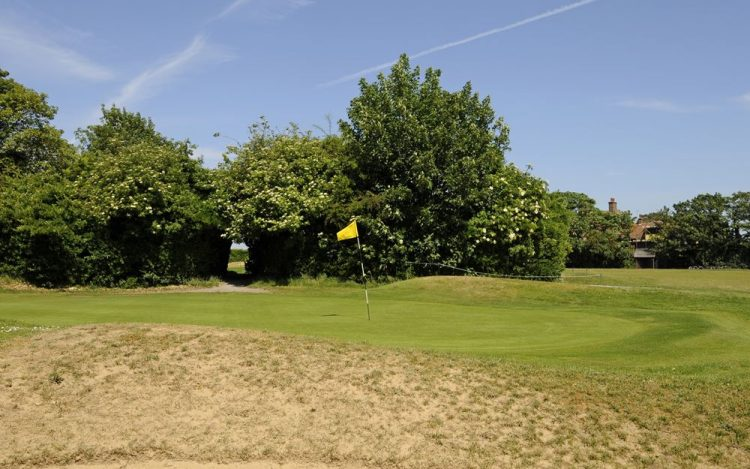 WBGC - 17TH HOLE - BUNKER AND GREEN 2