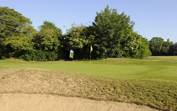 WBGC - 17TH HOLE - BUNKER AND GREEN 3