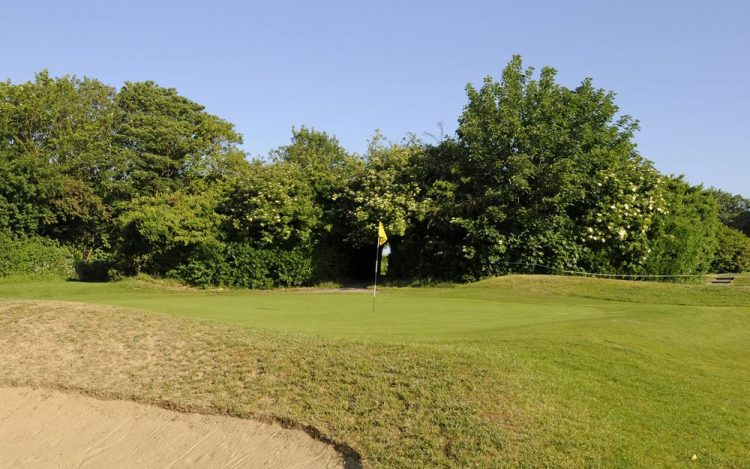 WBGC - 17TH HOLE - BUNKER AND GREEN 4