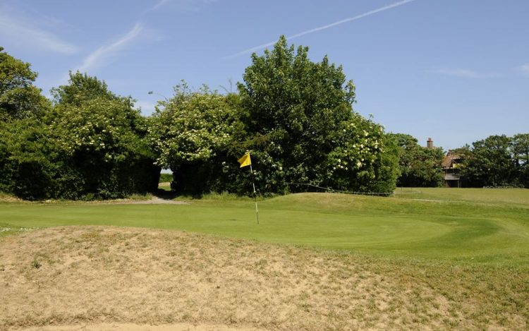 WBGC - 17TH HOLE - BUNKER AND GREEN