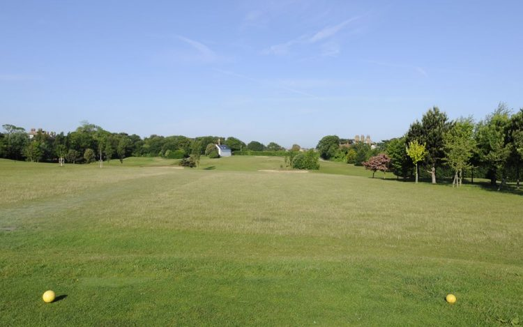 WBGC - 1ST HOLE - VIEW FROM 1ST TEE (YELLOW)